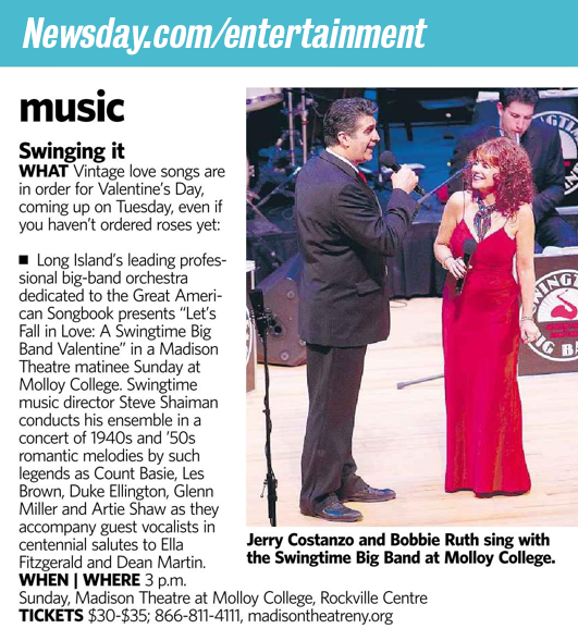 Swingtime-newsday entertainment